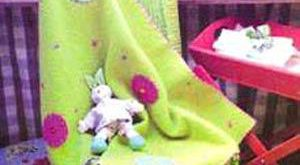 پتو نوزادی نمدی